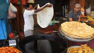 Download The fine art of Kashmiri Paratha making Video