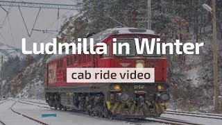 Download Winter Cab Ride -21°C ❄️😱 BDZ Ludmilla 07 047 Stanyantsi - Kalotina 🛤️ Bulgarian Railways Video