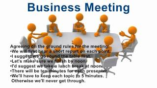 Download Useful phrases for Business Meeting in English Video