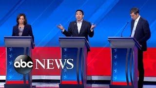 Download Democratic candidates debate: Education   ABC News Video