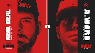 Download KOTD - Rap Battle - Real Deal vs A. Ward | #GvG Video