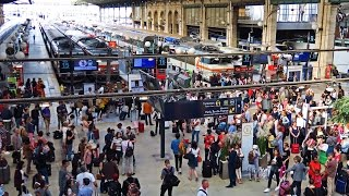 Download Paris Gare du Nord - The Busiest Station in Europe ! Video