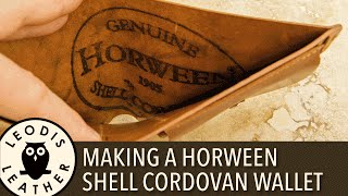 Download Making a Horween Shell Cordovan Wallet Video