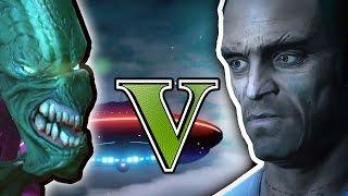 Download GTA 5 - TREVOR vs ALIENS Video