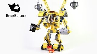 Download Lego Movie 70814 Emmet's Construct-o-Mech - Lego Speed build Video