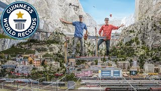 Download Miniatur Wunderland: Largest model train set - Meet The Record Breakers Video