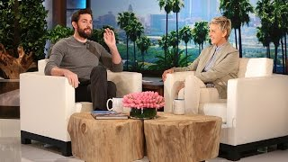 Download John Krasinski Talks Hanging with Leo Video
