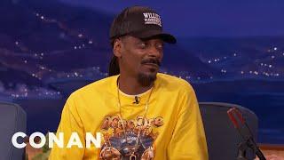 Download Snoop Dogg Predicted Trump's Presidency - CONAN on TBS Video