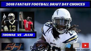 Download 2018 Fantasy Football Advice - Tough Draft Day Choices Video