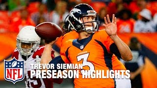 Download Trevor Siemian Highlights | Best & Worst of 2016 Preseason | NFL Video