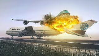 Download The Crash Of The Century | New Flight Simulator 2018 [P3D 3.4 - Ultra Realism] Video