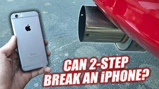 Download iPHONE vs. 1200hp SUPRA! (BENT & SHATTERED!) Video
