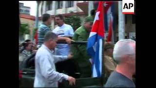 Download Re-enactment of rebels' arrival in Havana 50 years ago Video