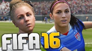 Download WOMEN CAN PLAY FOOTBALL !?! - FIFA 16 Funny Moments Video