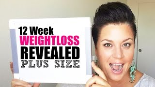 Download PROGRESS PICTURES 12 week weight loss results - plus size fitness Video