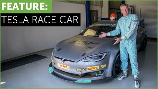 Download Tesla Race Car! Tiff Needell drives The Electric Tesla GT P100DL Video