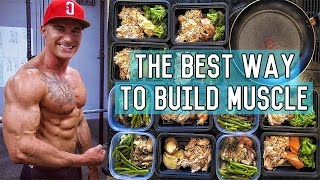 Download The Perfect Muscle Building Diet | 3400 Calorie Lean Bulk Meal Plan Video