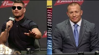 Download UFC 217: Bisping vs St-Pierre - Las Vegas Press Conference Highlights Video