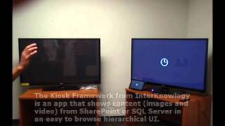 Download Kinect in Windows 8 Metro - InterKnowlogy Kiosk Video