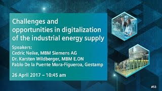 Download Challenges and opportunities in digitalization | 26 April 2017 - 10:45 am Video