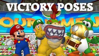 Download Mario Power Tennis - All Character Trophy Celebrations (HD) Video