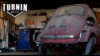 Download Runnin On Empty | 1959 BMW Isetta Runs After 30 Years | Turnin Rust Episode 6 Video