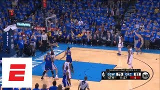 Download Klay Thompson's 2016 Western Conference finals Game 6 performance vs. Thunder   ESPN Archives Video