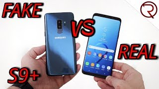 Download FAKE VS REAL Samsung Galaxy S9 Plus - 1:1 CLONE - Buyers BEWARE! Video