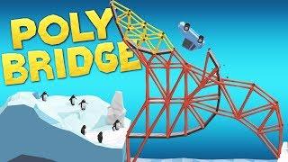 Download Building Bridges That Should Be Impossible In Poly Bridge Video