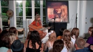 Download Taylor Swift - Acoustic Performances from RED Album Video
