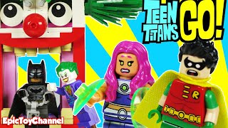 Download TEEN TITANS GO! Lego Batman Captured Joker Starfire Robin & Titans Try Rescue by Epic Toy Channel Video