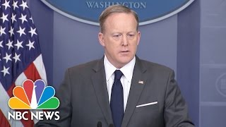 Download Sean Spicer: 'We're Not Saying It's The End Of Health Care' | NBC news Video