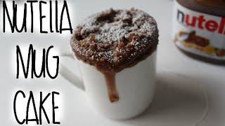 Download Nutella Mug Cake Recipe! Video