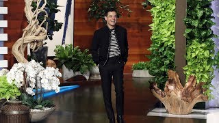 Download 'Bohemian Rhapsody' Star Rami Malek Asks Ellen for a Selfie Video