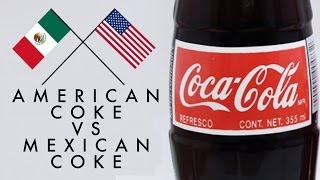 Download Mexican Coke Vs American Coke Taste Test Video