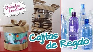 Download Chuladas Creativas :: Cajitas de Regalo con Botellas de Pet :: Manualidades Sammily Video