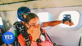 Download Asking Uber Drivers to Skydive on the Spot!! Video