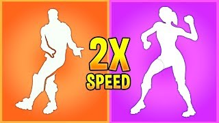 Download I played My Fortnite Emotes in 2x Speed and they sounded *BETTER* Video