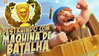 Download A MAQUINA DE BATALHA NV 5!! BASE DO CONSTRUTOR - CLASH OF CLANS Video