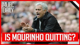 Download IS JOSE MOURINHO QUITTING MAN UNITED? | MUFC DAILY #1 Video