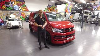 Download Cherry Bomb!!!! James shows you around our latest Transporter ABT creation Video
