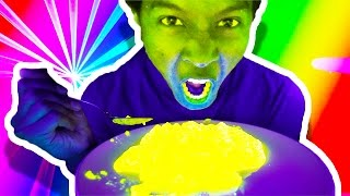 Download GLOW IN THE DARK FOOD!?! WHAT?!?! Video