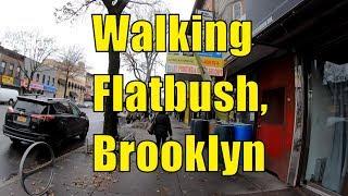 Download ⁴ᴷ⁶⁰ Walking Flatbush, Brooklyn, NYC : Avenue H, Brooklyn College, Flatbush Avenue to Church Avenue Video