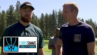 Download Travis Kelce on TEs he watches, Patrick Mahomes' best throw | Chris Simms Unbuttoned | NBC Sports Video