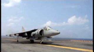 Download harrier vertical take off best close up Video