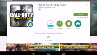 Download Hou to download call of duty strike team for free !!! Video