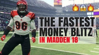 Download The Fastest Blitz In Madden 18 - NO TIME TO THROW Video