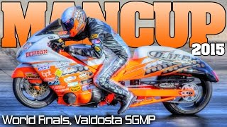 Download Man Cup World Finals motorcycle drag racing SGMP Full Event 2015 Video