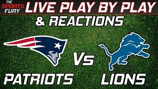 Download New England Patriots vs Detroit Lions | Live Play-By-Play & Reactions Video