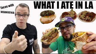 Download What I Ate In a Day in LA & VeganFatKid's Recording Studio Video